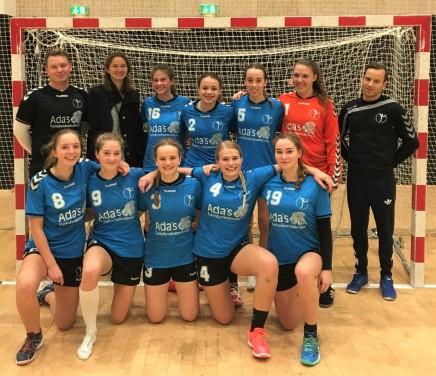 d581f789edf4 U18 pigerne - for første gang i Birkerød og Rudersdals håndbold historie er  et hold videre i Ligaen